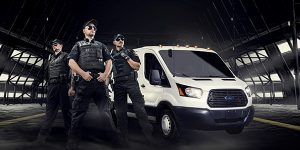 armored cash transit
